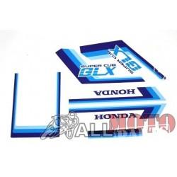 Αυτοκολλητα σετ GLX μπλε